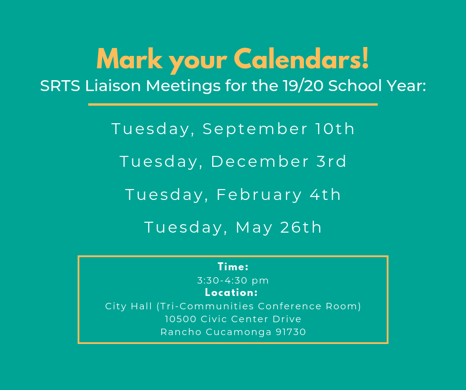 SRTS Liaison Meeting