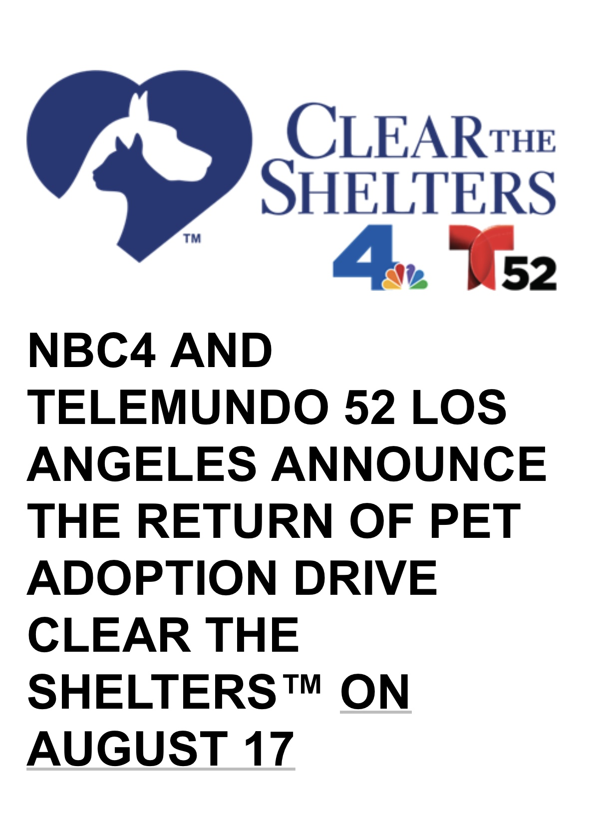ACS-Clear the Shelter