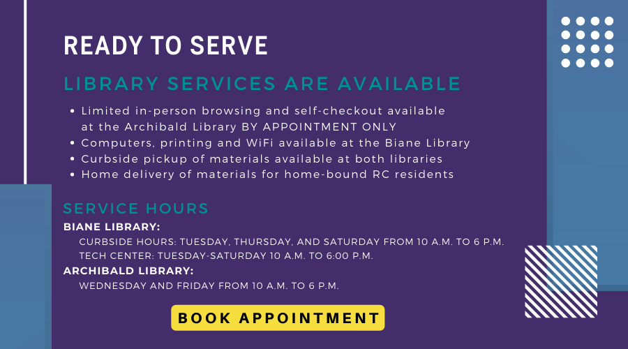 Library Limited Services Homepage