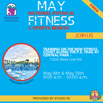 Fitness training May Fitness Month