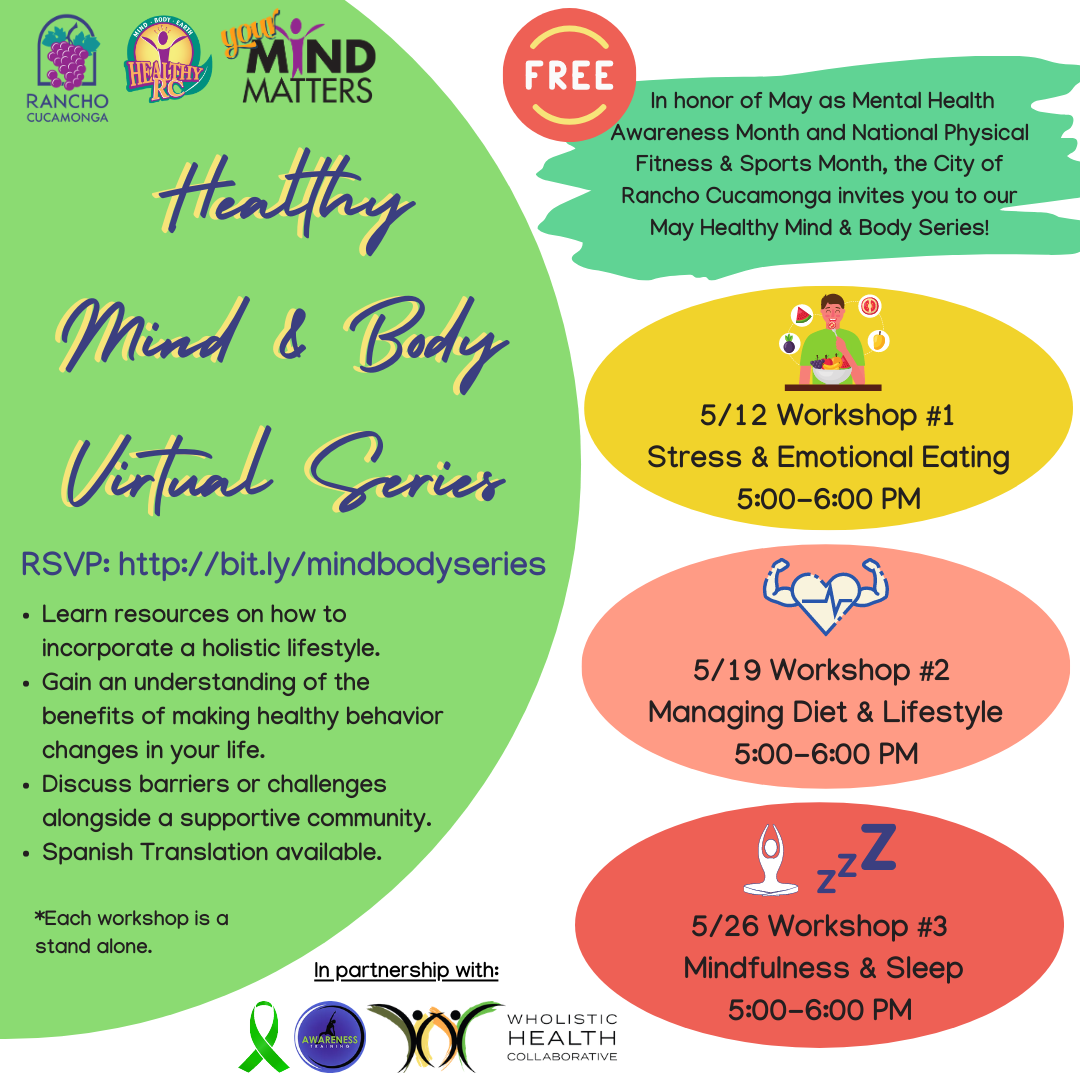 May Healthy Mind & Body Virtual Series