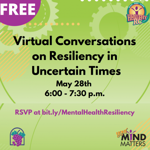 Virtual Conversations on Resiliency