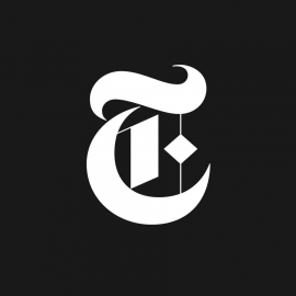 Logo for the New York Times newspaper
