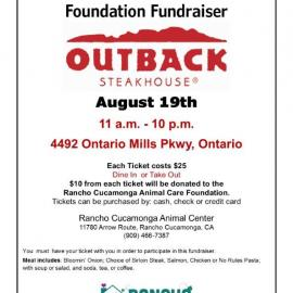 Outback Fundraiser