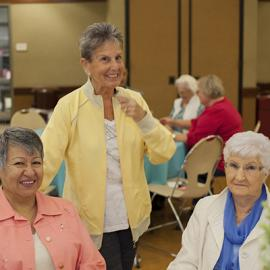 CSD - Senior Center Month Kickoff Party