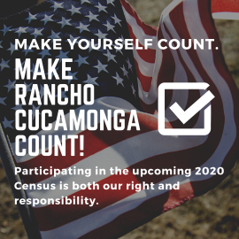 Rancho Cucamonga 2020 Census