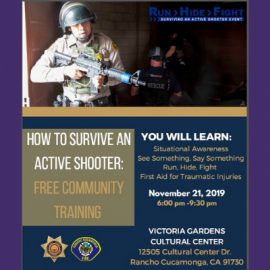 Active Shooter Training 11.21.19