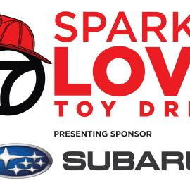 Spark of Love Toy Drive logo