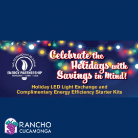 Holiday LED Light Exchange and Complimentary Energy Efficiency Starter Kits