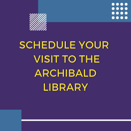 Archibald Library Appointment