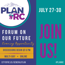 Save the Date PlanRC Forum on Our Future July 27-30