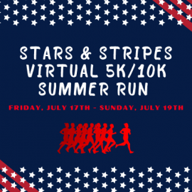 CSD-Stars & Stripes Virtual 5k/10k