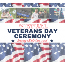 Virtual Veterans Day Ceremony
