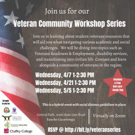 Veteran Community Workshop Series