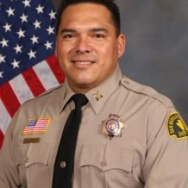 portrait of Captain Ernie Perez Police Chief of Rancho Cucamonga