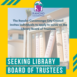 Library Board of Trustees Vacancy