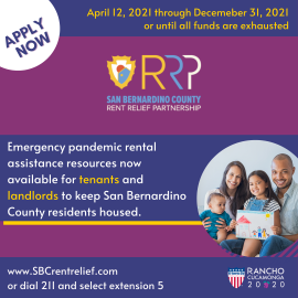 San Bernardino County Rent Relief Partnership